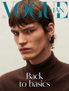 Elias de Poot reunites with Vogue Ukraine Man for another cover. Connecting with the magazine for fall, Elias joins his fellow models, Jeenu Mahadevan and Tommy… Cover Male, Cover Boy, Vogue Magazine Covers, Vogue Covers, Vogue Ukraine, Fashion Editorial Couple, Vogue Photoshoot, Magazine Man, The Fashionisto