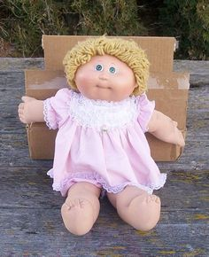 My cabbage patch was this one!  You had to take what you could get because they flew off the shelves!