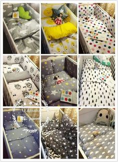 crib bedding from toabao shop CC & Mama.