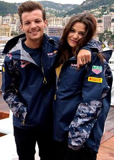 Sweet picture of Louis and Danielle in Monaco today!