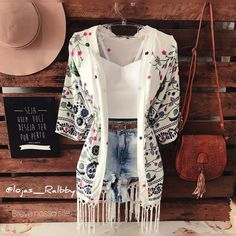 A little western where I prefer beachy Cute Summer Outfits, Cute Casual Outfits, Stylish Outfits, Spring Outfits, Fashion Mode, Teen Fashion Outfits, Tumblr Fashion, Tokyo Fashion, Western Outfits