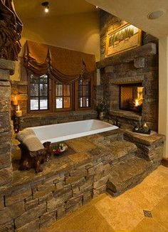 Bath Photos Log Cabin Kitchens Design, Pictures, Remodel, Decor and Ideas - page 31