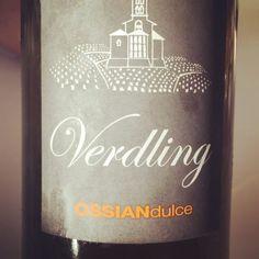 Verdling Ossian Dulce (verdejo de VT Castilla y León) #vino #videocata #uvinum @ossianvinos