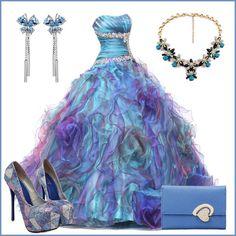Luxurious Ball Gown Floor-Length Quinceanera Dress