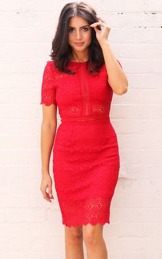 We've loving all things lace and this super cute little LRD will turn heads at any event you're attending this season.