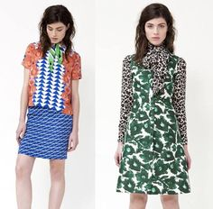 Wild print mixing at Mother of Pearl