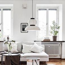 Pendant Light Formakami Jh4 White Black O50cm H48cm Andtradition Home Decor Pendant Light Modern Asian