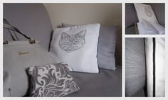 """12 Projects for Home"" 2nd edition. Project by Ela (elau66wr.blogspot.com) Cushions and new sofa cover"