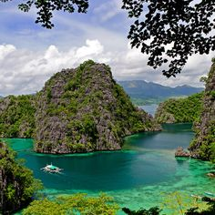 Coron Bay in Busuanga island, Philippines