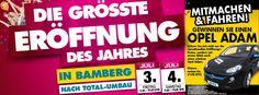 DIE GRÖSSTE ERÖFFNUNG DES JAHRES IN BAMBERG - NACH TOTAL-UMBAU am 3. + 4. Juli 2015