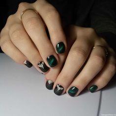 Cat eye mani with gel nail polish :: one1lady.com :: #nail #nails #nailart #manicure