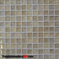 Glass Tile Backsplash Photo Gallery | Glass Tile Kitchen Backsplash on Glass Tile Blend 1x1 1x1 Glass Tile ...