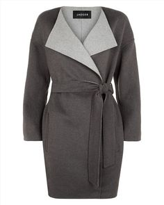 Double-Faced Waterfall Coat