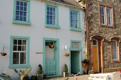 Greengate. Kirkcudbright Scotland. Home of Jessie M. King & E.A. Taylor. Malcolm Morris photo.