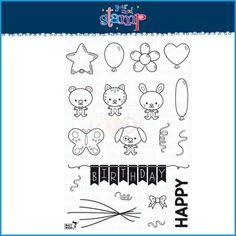 Your Next Stamp Clear Stamp Set - Balloon Buddies