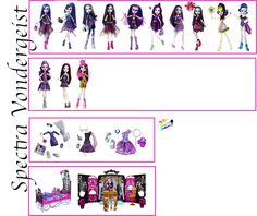 Following my Dreams : Updated all the character's doll lists for Monster...