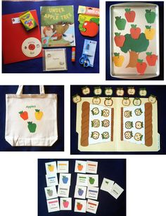 Apples Literacy Storytelling Bag