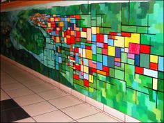 Mural Art - Dixie Sutton and Brittany Wilkins (Mural Inspiration)