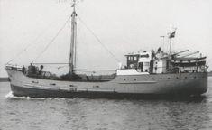 13 maart 1963  Het vrachtschip ms 'Fiducia' (1939)  van J.C. Minnaar uit Rotterdam http://koopvaardij.blogspot.nl/2016/03/13-maart-1963.html