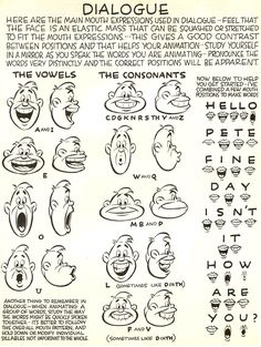Clase de Animación Básica - EAP: Ejercicio de Vocalización (Lip Synch)