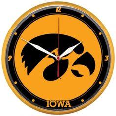 Iowa Hawkeyes Clock - Mills Fleet Farm