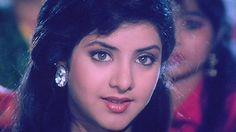 Natural Beauty Divya Bharti Cute