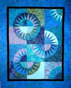 New York Beauty Quilt Top by Patchmaker Ready