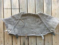 maglie in sospeso maglione top down tutorial