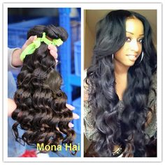 1) Unprocessed100% virgin peruvian hair 2) Wholesale price and high quality 3) Tangle and shed free 4)Thick and Heathy ends