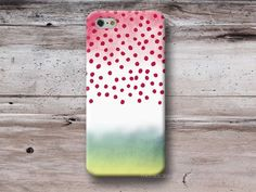 Polka Dots Color Gradient Phone Case. Via en.DaWanda.com.