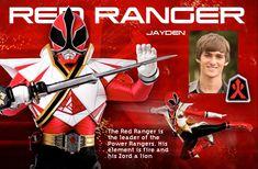 Red Samurai Power Ranger