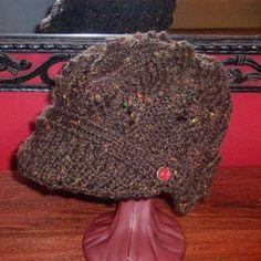 Newsboy Peak Knitted Cap