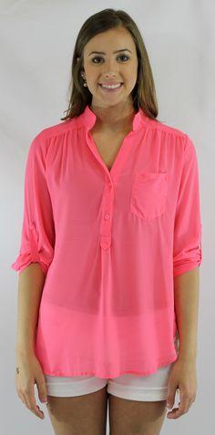 Kiki La'Rue - Neon Ready Top - Pink, $36.00 (http://www.kikilarue.com/neon-delight-top-pink/)