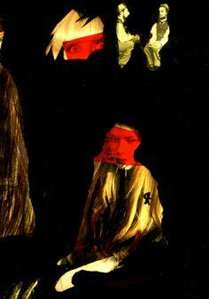 """15-Toulouse Lautrec x Cris Acqua.  Pintura Mixta Collage. 30x21 cm.  HOMENAJE :""""Mi amor por este genial pintor...dueño de los trazos más libres y geniales de la Belle epoque, me han influido totalmente en mi camino por el arte..."""" (Cris Acqua)  http://www.crisacqua.com"""