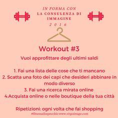 Pronte per il nuovo #workout ? Ma solo chi è iscritto alla #newsletter riceve anche i suggerimenti mirati! ;-)  #FitnessAlloSpecchio #ConsulentediImmagineMilano #PersonalShopperMilan #VirgoImage #AngelaBianchi