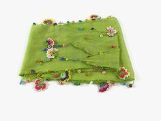 Leichte grüne Schal Mönchskutte Baumwolle mit von Nakkashe auf Etsy
