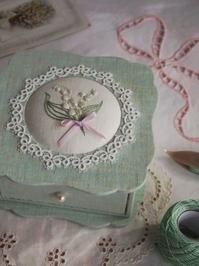 東京・自由が丘 井上ちぐさの刺繍&カルトナージュ教室 Atelier Claire(アトリエクレア)