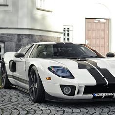 "@exotic_performance's photo: ""Black & White Ford GT  Via: @Ford_Motorsports  ___________________
