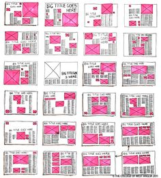 Layout I think all of these templets serve as a good basis for us to base spreads off of. They have many good ideas for appealing layout- and we could modify them to have less text! Editorial Design, Editorial Layout, Graphisches Design, Buch Design, Design Ideas, Cover Design, Configurations De Grille, Layout Inspiration, Graphic Design Inspiration