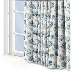 Prestigious Textiles Sicilia Indigo Curtain