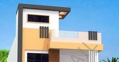 Indian house design, small house design, house plan with 3d elevation, Nikshail House Design 2 Storey House Design, House Front Design, Small House Design, 30x40 House Plans, Indian Home Design, Independent House, Indian Homes, House Elevation, Exterior House Colors