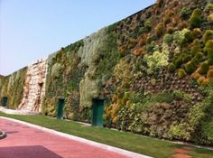 The world's largest vertical garden is as long as a city block