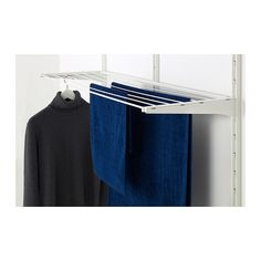ALGOT Drying rack IKEA You just click the drying rack into ALGOT brackets for use in an ALGOT wall-mounted storage solution - no tools needed.