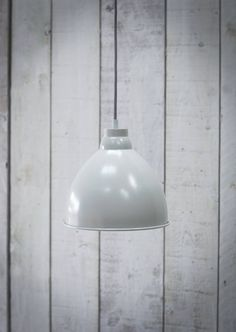Harrow Pendant Light in Chalk