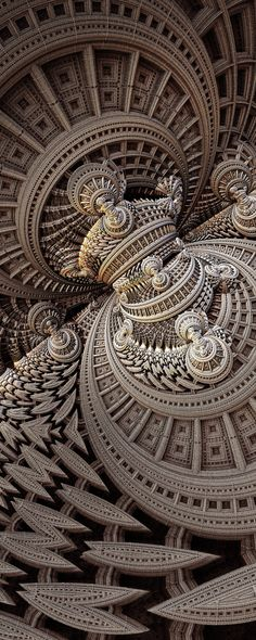 TheyCallMeNobody by FractsSH.deviantart.com fractal art made with mandelbulb 3d
