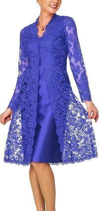 #EveningDress #Dresses Visit our site for Carmen Marc Valvo Sequined Lace Gown