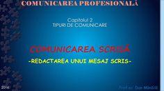 Profu`economist: COMUNICAREA SCRISA (2) School