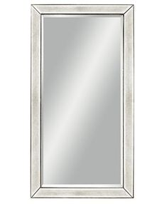 Furniture Marais Mirrored Floor Mirror & Reviews - Furniture - Macy's