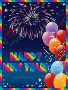 Glitter Graphics: the community for graphics enthusiasts! Happy New Year Animation, Happy New Year Gif, Happy New Year Images, Happy New Year Quotes, Happy New Year Greetings, New Year Wishes, Happy Birthday Images, Holiday Wishes, Happy Birthday Wishes