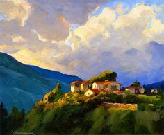 "Jean Mannheim ""Storm Clouds, Devil's Gate, Pasadena"""